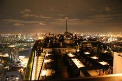 屋顶顶面曼谷 免版税库存照片