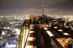 屋顶顶面曼谷 免版税库存图片