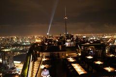 屋顶顶面曼谷 图库摄影