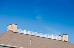 屋顶顶面阳台 免版税库存照片
