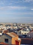屋顶马德里西班牙欧洲 图库摄影