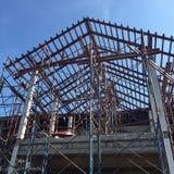 屋顶结构 免版税库存照片