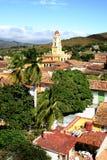 屋顶-特立尼达,古巴 免版税库存图片