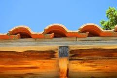 屋顶建筑细节 免版税库存照片