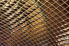 屋顶细节, Cabot马戏购物中心,布里斯托尔,英国 图库摄影