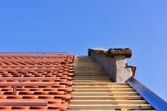 屋顶细节 免版税库存图片
