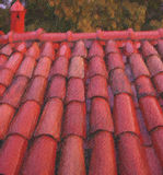 屋顶 库存图片