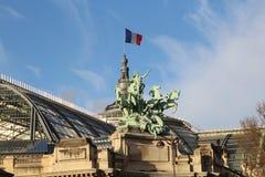巴黎屋顶 免版税图库摄影
