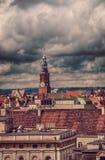 屋顶WrocÃâaw (波兰) 免版税库存图片