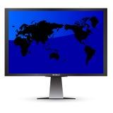 屏幕世界 免版税库存照片