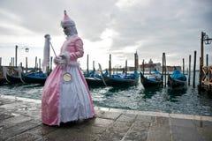 屏蔽威尼斯 免版税库存照片
