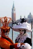 屏蔽威尼斯 库存照片