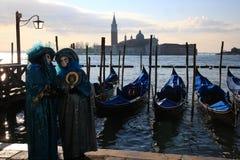 屏蔽威尼斯 库存图片