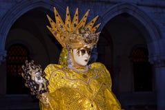 屏蔽,威尼斯狂欢节  免版税图库摄影