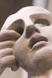 屏蔽 雕塑 免版税库存照片