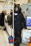 展开fsb防护套服 免版税库存图片