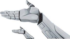 展示现有量机器人 免版税库存照片