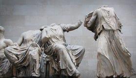 展览在大英博物馆中 库存图片