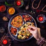 屠妖节庆祝食物 免版税图库摄影