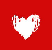 履行您的心脏 库存图片