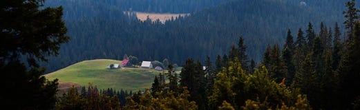 黑山。 库存图片