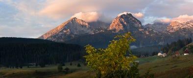 黑山。 免版税图库摄影
