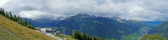 山世界在蒂罗尔,奥地利 库存照片