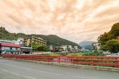 山之内,日本- 2016年9月17日:山之内村庄图, Y 免版税库存照片