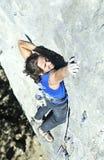 登山人在乌克兰2 库存图片