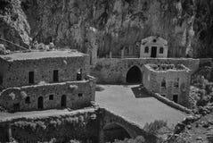 山修道院 库存图片