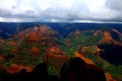山俯视 免版税图库摄影