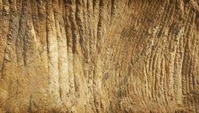山做了墙壁 免版税图库摄影