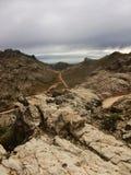 山全景玻利维亚岩石 免版税库存照片
