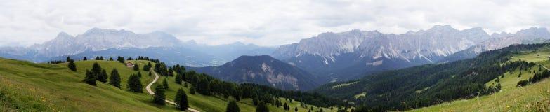 山全景(意大利) 免版税库存图片