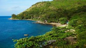 山南部的海滨 库存照片