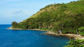山南部的海滨 免版税库存照片