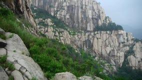 山台山峭壁在中国 影视素材