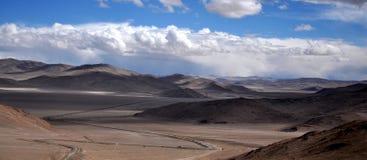 山和云彩 图库摄影