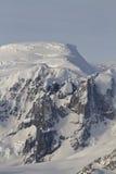 山和冰川西部南极州 免版税库存图片