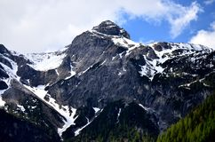 山和雪 库存图片