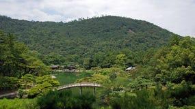 山和Ritsurin晃演庭院高松日本 库存图片