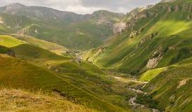 山国家公园Shahdag (阿塞拜疆) 免版税库存图片