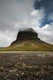山在冰岛 免版税库存图片