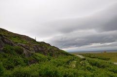 山在北欧 免版税库存图片
