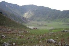 山在吉尔吉斯斯坦 图库摄影
