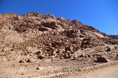 山在埃及 图库摄影