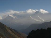 山在尼泊尔 免版税库存图片