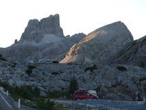 山在意大利 免版税库存照片