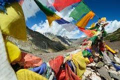 山在拉达克在印度 库存照片