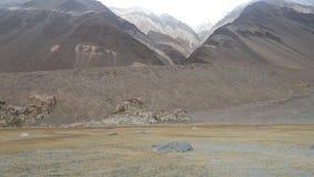 山在拉达克 库存照片